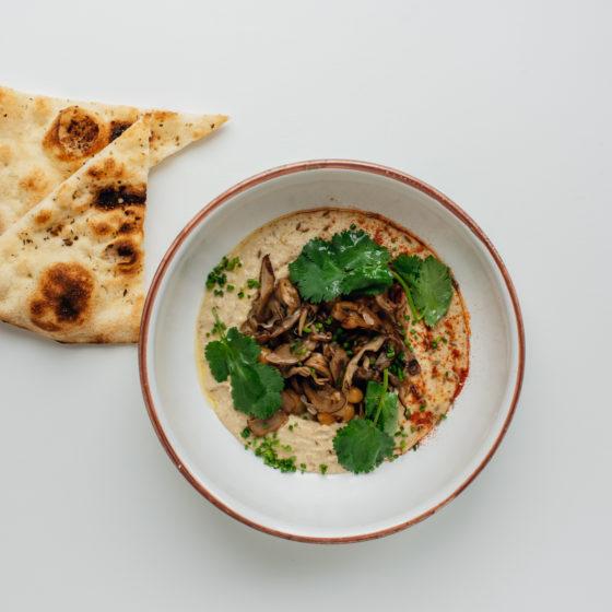Хумус и грибы